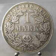 1 Mark 1893 A, Silber .900, #2