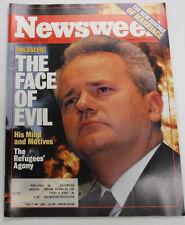 Newsweek Magazine Milosevic The Face Of Evil April 19, 1999 101816R