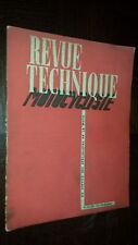 REVUE TECHNIQUE MOTO MOTOCYCLISTE N° 23-24 - Nov-Déc. 1949