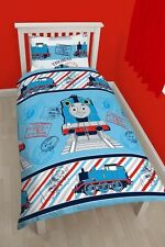 Thomas The Tank Engine Adventure Single Duvet Quilt Cover Reversible Bedding Set