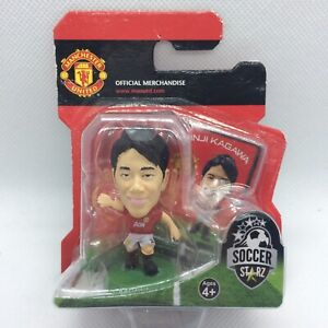 NEW OFFICIAL MANCHESTER UNITED FC SHINJI KAGAWA SOCCERSTARZ FOOTBALL FIGURE