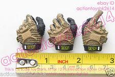 1/6 Scale DAMTOYS 78036 BRITISH ARMY- MINIMI GUNNER- gloves hands
