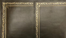 Replacement Leather Insert Desks Bureaus Writing Tables Olive Green Gold Tooling