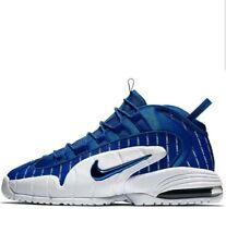 Nike Air Max Penny 1 Cent Pinstripe Royal Blue White Foamposite AV7948-400 Sz 14
