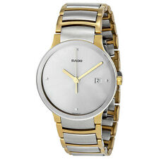Rado Centrix Jubile Silver Dial Two-tone Mens Watch R30931713