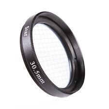 Universal 30.5mm 4PT 4 Cross Star Effect Lens Filter Four Point Line DSLR Camera