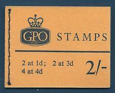 SG n22pa 2 / - wildings GPO blocchetto con tutti i riquadri ott 1965 Unmounted MINT / MNH