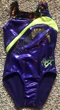 Gabrielle Douglas Gk foil gymnastics leotard Cm Child Medium Ec
