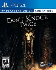Pre-order NEW Don't Knock Twice Standard Edition PlayStation 4 PS4 2018