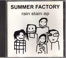 Summer Factory - Rain Stain EP - CD - 1995 - Rock Goth Rock Synth-Pop