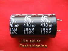 1 pc   -   470uf   200v  85c   electrolytic capacitors  FREE SHIPPING