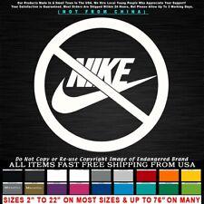 Nike Boycott Circle Betsy Ross 1776 Patriot Kapernick shoes Sticker Decal