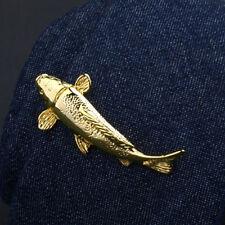 Fish shaped tie clip,fish tie slide,fish tie bar,fish tie clasp,gold color
