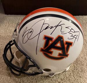 BO JACKSON Signed Full Size FS Pro Line Football Helmet TriStar Auburn