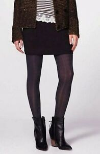 Hue Sweater Tights Sz S / M Blackberry Purple Cable Sweater Tight Modal Blend
