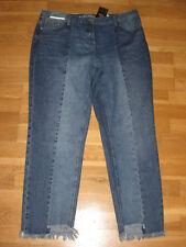 NEXT Boyfit Mid Rise Jeans Size 18 Regular Crop Leg 26 With Tags