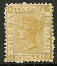 Sierra Leone  1872  Scott # 8  Mint No Gum