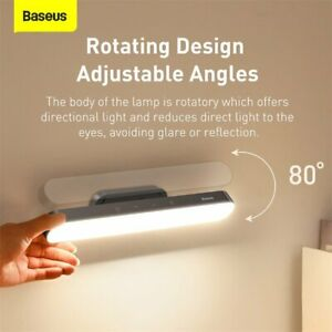 Baseus LED Magnetic Desk Lamp Portable Hanging USB Dimmable Reading Table Light