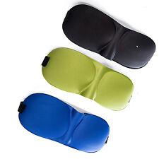 Sleep Mask, 3 Pack Lightweight & Comfortable Super Soft 3D Contoured Eye Masks