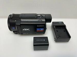 Sony 4K HD Video Recording Handycam Camcorder FDRAX33