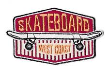 Patch écusson patche West Coast Skateboard thermocollant badge insigne skate