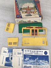 Vintage Little Town Construction Toy