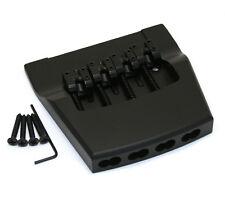 Hipshot Black/Aluminum Bass Bridge for Rickenbacker/Ric® 4001/4003 5RK400B-ALUM