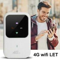 Unlocked 4G LTE Mobile Broadband WiFi Wireless Router MiFi Hotspot Portable D0B6