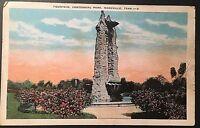 Fountain Centennial Park Nashville Tenn. Vintage Postcard E114
