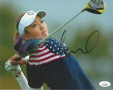 Michelle Wie Signed 8x10 Photo JSA COA Autograph LPGA Golfer
