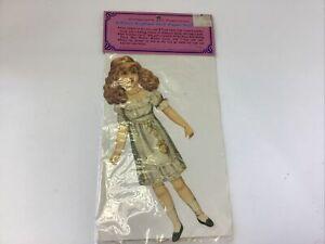 Vintage Raphael Tuck Paper Doll Set Original Package Doll And Costumes Merrimack