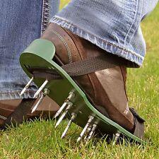 PRATO AERATORE AERAZIONE Scarpe Sandali 13 x 5cm Punte Per Scarpa da giardino prato Cura