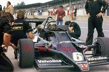 Ronnie Peterson JPS Lotus 79 British Grand Prix 1978 Photograph 1