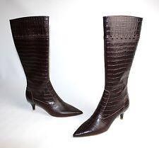 Damenstiefel & -Stiefeletten im Boots-Stil aus Echtleder mit Reißverschluss für Hoher Absatz (5-8 cm)