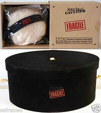 Grande Boite chapeau + Houpette JEAN PAUL GAULTIER  parfum FRAGILE neuf velour