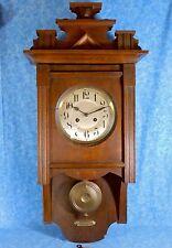 1900s JUNGHANS Eastlake Free Swinger Regulator Wall Clock,  Harmonie Gong, A08