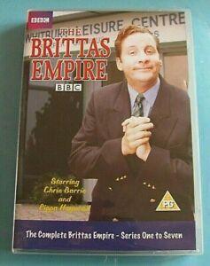 THE BRITTAS EMPIRE Complete Series 1 2 3 4 5 6 7 DVD 1-7 Region 2 *see below