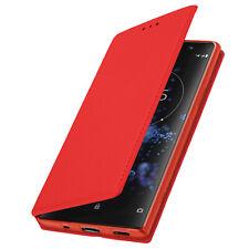 Funda Sony Xperia XA2 Plus libro billetera Función soporte - Roja