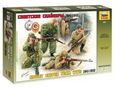 3597 Zvezda model kit soviet sniper team scale 1/35