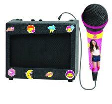Soy Luna Disney Portable Karaoke With Retro Amplifier Microphone Original Girls