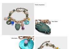 Bracelets & Bangles Ethnic Bohemia Handmade Charms  for Women Shell Antique