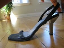 Emporio Armani Black Strap Heels -Size 40 (US 9.5)
