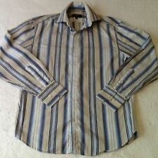 Cotton Button Cuff Striped NEXT Formal Shirts for Men