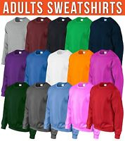 Adults Sweatshirt Mens Womens Sweater Hoody Top Workwear Wholesale Brand New