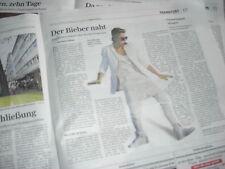 Bericht über Justin Bieber aus der Frankfurter Rundschau