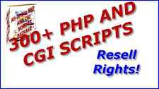 All-in-One PHP AND CGI SCRIPTS PACKAGE - 300+ Scripts Resell Rights!