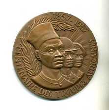 (M 17) MÉDAILLE DE L'ARMÉE CENTENAIRE DES TROUPES AFRICAINES (1857-1957)