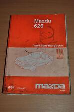 Werkstatthandbuch MAZDA 626 Motor Kupplung Getriebe Lenkung Bremsen 1997