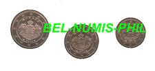 MONACO 2013 -  1 - 2 & 5 cent uit de BU-set - BU-kwaliteit!!!