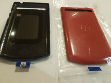 NEW ORIGINAL Blackberry Porsche P9983 P'9983 Back Leather Cover - Battery Door